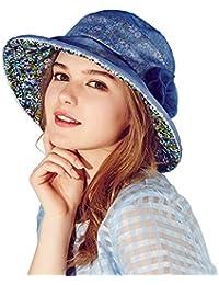 614dac57aaf Kenmont Summer Spring Women Lady Silk Bucket Hat Beach Vacation Cap