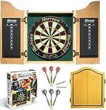 good-darts HARROWS Dart-Kabinett inkl. Turnierboard Komplettset