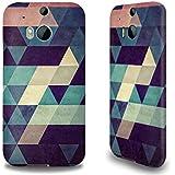 Premium Hülle für das HTC One M8, Hardcase aus recyceltem PET mit Designer Motiv - ''Cryyp'' von Spires