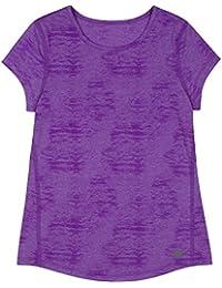 New Balance Girls' Textured Performance T-Shirt