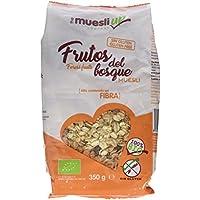 Muesly Up Muesli con Frutos del Bosque - Paquete de 6 x 350 gr - Total: 2100 gr