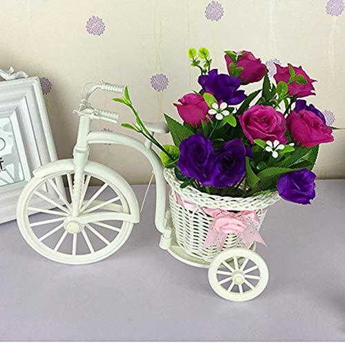Dekorative Blumen Home Zubehör Kleine Auto Feng Shui künstliche Blumen (Sehr Viel Farbe) Dekorative Fake Blumen Simulation Blumen Green Potted Wohnzimmer Schlafzimmer Einrichtungsgegenstände, E