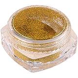 Zibuyu Nail Art Shinning Mirror Glitter Magic Powder Chrome Effect Shimmer