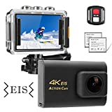 NINE CUBE Action Camera 4K Ultra HD WiFi 20MP, Fotocamera Sportiva Impermeabile...