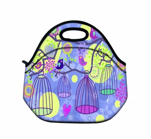 cool-birdcage-girls-boys-lunch-box-tote-pouch-cooler-bag-insulated-lunchbox-holder-w-handle-by-profe