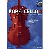 Pop for Cello 4 - arrangiert für Violoncello - (für ein bis zwei Instrumente) - mit CD [Noten/Sheetmusic]