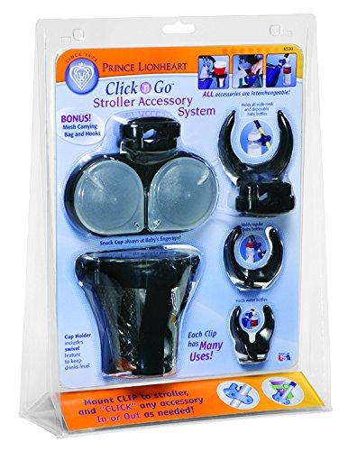 Prince Lionheart Kit D'Accessoires Poussette Click'N Go