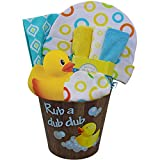 Best Art of Appreciation Gift Baskets Gifts For Baby Boys - Rub a Dub Dub It's Time For Tub Review