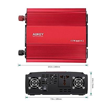 AUKEY-1000W-Wechselrichter-leistungsstark-DC-12V-bis-230V-AC-Auto-Power-Inverter-mit-einem-Ausgang