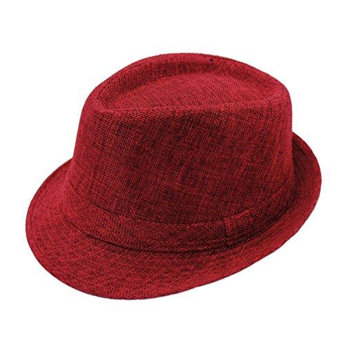 cappello-trilby-ragazze-donne-primavera-estate-cappello-rosso