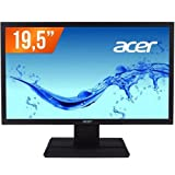 Acer V6 V206HQL 19.5 inch (49.53 cm) Widescreen LCD Monitor (Black) with VGA and DVI