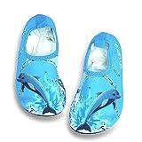 J&T Scarpe da Immersione Scarpe da Nuoto per Bambini Ragazzi Ragazze Scarpette da Bagno Mare Spiaggia Antiscivolo Scarpe Acqua per Beach Swim Surf Yoga Scarpe a Piedi Nudi