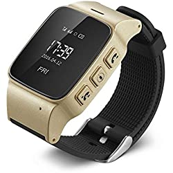 KOBWA D99 Elderly Kids GPS Tracker Android Smart Watch Google Map SOS Wristwatch Personal GSM GPS LBS Wifi Safety Anti-Lost Locator Watch