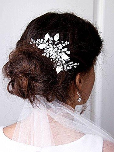 Peinados para novia con peineta