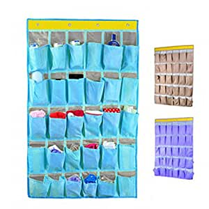 Over Door Storage,30 Pocket Wall Door Hanging Storage