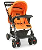 LuvLap Baby Sports Stroller and Pram (Orange)