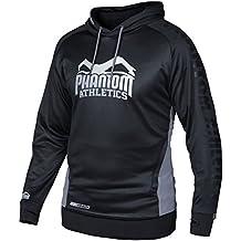 """Phantom Athletics Hoodie """"Stealth"""" - Black - Hoody Pullover Kapuzenpullover Herren"""