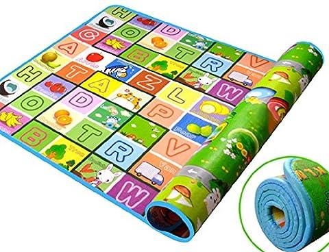 ZEARO Baby-Kind-Kleinkind Spielteppich Crawl Mat Spielmatte Matte Picknickdecke (Anzeige Mat)