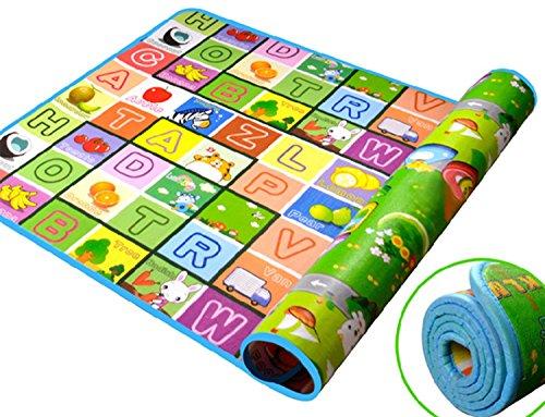 ZEARO Impermeable Alformbra para Bebe Active Juguetes Tapete Picnic Viaje Alfombra de Juego Puzzle Juego