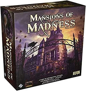 Fantasy Flight Games FFGMAD20 Mansions of Madness Board Game, Second Edition (Core Set) (B01J4NB6CO) | Amazon Products