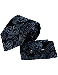 EAC1B02 Classic Regalo que da Patr¨®n Multicolors seda corbata para hombre establecido por Epoint