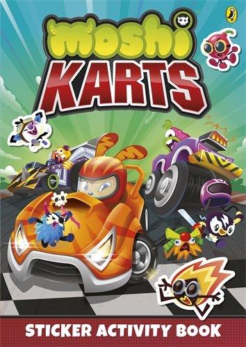 Moshi Karts Sticker Activity Book (Moshi Monsters)