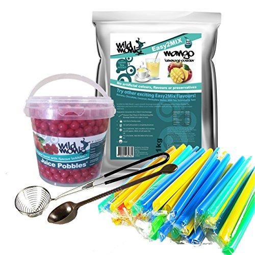 bubble-tea-kit-33-40-servings-1-bubble-tea-brand-featuring-mango-bubble-tea-powder-strawberry-juice-