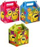 24 x Kids Party Lunch-Box SMILEY FACE DESIGN - Best Reviews Guide