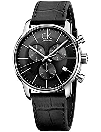 Hombre CALVIN KLEIN CK City Cronógrafo Vestido reloj K2G271C3