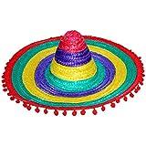 Sombrero mexicano de varios colores