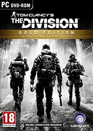 Tom Clancy's The Division - Gold Edition (PC DVD)(Exclusive to Amazon.co.uk)