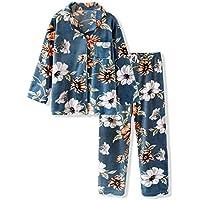 DUKUNKUN Moda Simple Estampado De Flores Pijamas De Pareja Hombres Y Mujeres Abrigos Ropa Casual,S
