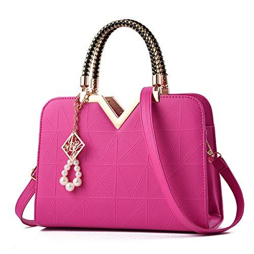 Damen Handtaschen Mode Damen Shells Koreanische Version Einfache Schultertasche Messenger Bag C