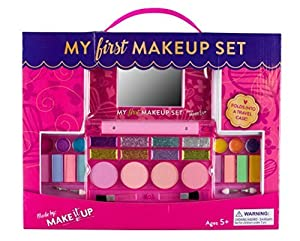 Make it Up Kit De Maquillage De Filles - Sécurité Testée - Non Toxique - Compact Déplie Palette De Maquillage Avec Miroir