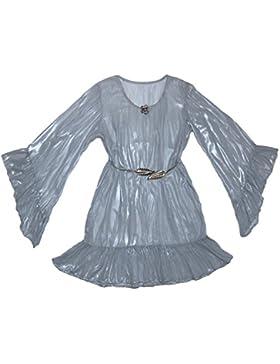 Xarismania tunica camicetta donna argento luminoso tg.44-46