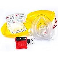 CPR Rescue Maske, Erwachsenen-/Kind Pocket Stück, Hard Case mit Handschlaufe enthalten 1CPR Maske Schlüsselanhänger... preisvergleich bei billige-tabletten.eu