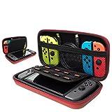 ILOVEDIY Etui Rigide Nintendo Switch Housse Rigide de Rangement Zippée en Matériau...