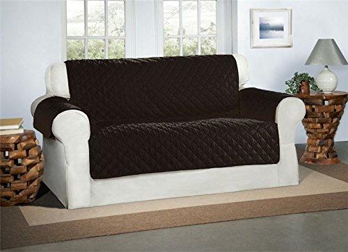 Copridivano color nero 2 posti - sofa protettore mobili imbottita scialle copertura divano