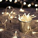HG® 20M 200 Warmweiß LED Lichterketten 31V Weihnachtslichterkette Außenlichterkette Wasserdicht 8 Modi Weihnachten Halloween Party Hochzeit Festlich Aussen Tannenbaum Fassaden Schaufenster Pavillon Garten