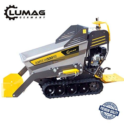 LUMAG Miniraupendumper Motorschubkarre VH500PRO ***NEU***