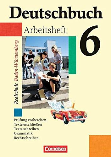 Deutschbuch 6: 10. Schuljahr - Arbeitsheft mit Lösungen,