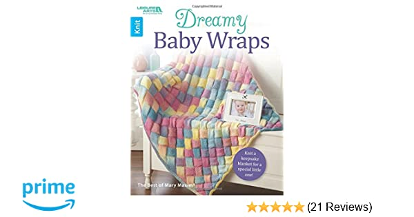 65ad425c8 Dreamy Baby Wraps (Best of Mary Maxim)  Amazon.co.uk  Best of Mary ...