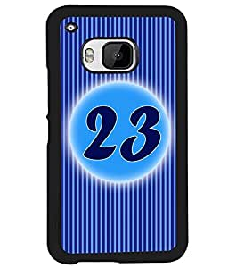 Printvisa 2D Printed Numerology Designer back case cover for HTC One M9 - D4243