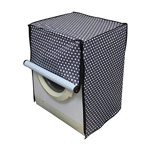 Dream Care Grey Printed Washing Machine Cover for Fully Automatic Front Loading IFB Senorita Aqua SX 6.5 kg  available at amazon for Rs.449