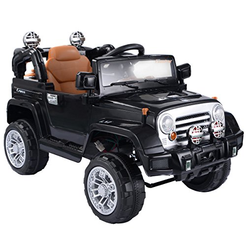 costway-kids-ride-on-car-12v-electric-battery-4ch-remote-control-jeep-toys-mp3-black
