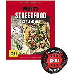 Weber Weber's Streetfood aus Aller Welt (GU s Grillen) heiss auf Neues vom Grill + Grillmeister Sticker by Collectix