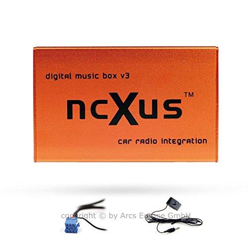 Preisvergleich Produktbild ncXus V3 Pro 8-Pin USB SD MP3 CD Wechsler Interface für VW AUDI SKODA SEAT mit Bluetooth A2DP