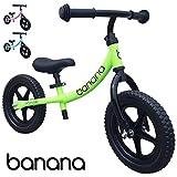 Banana Bike Leichtes Laufrad Lernlaufrad Kinderrad für 2, 3 und 4 Jahre alte Kinder LT (Grün)
