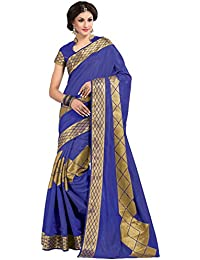Sudarshan Silks Raw Silk Saree (Sut2653_Blue)