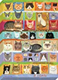 """Oopsy Daisy Best in Show Cats. Stretched canvas Wall Art by donna Ingemanson, Tela, 24 by 32"""""""